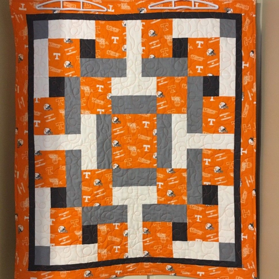 University Of Tennessee Baby Quilt Baby Pinterest
