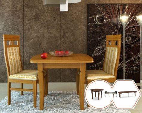 Стол квадратный обеденный деревянный раскладной B221 цвет доставка по украине от biformer.com.ua біформер биформер 4ugla.com.ua