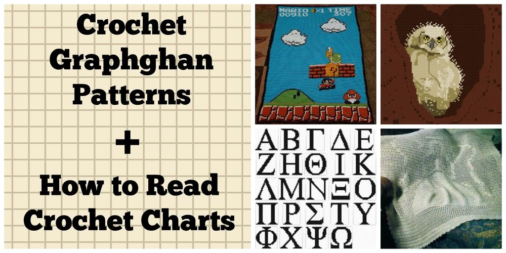 41 Crochet Graphghan Patterns How To Read Crochet Charts