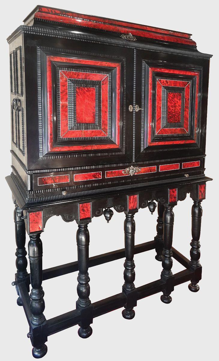 Exceptionnel Cabinet Flamand Antiquites Catalogue Meuble De Style Mobilier De Salon Meuble Baroque