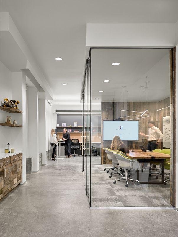Office tour brick and mortar ventures offices san - Office interior design san francisco ...