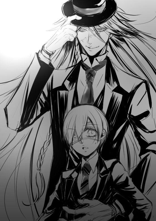 Undertaker & Ciel | Kuroshitsuji / Black Butler