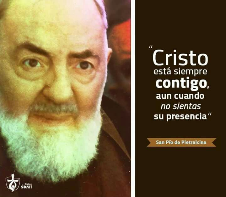 San Pío Pietrelcina Frases De Padre Pio Imagenes Del