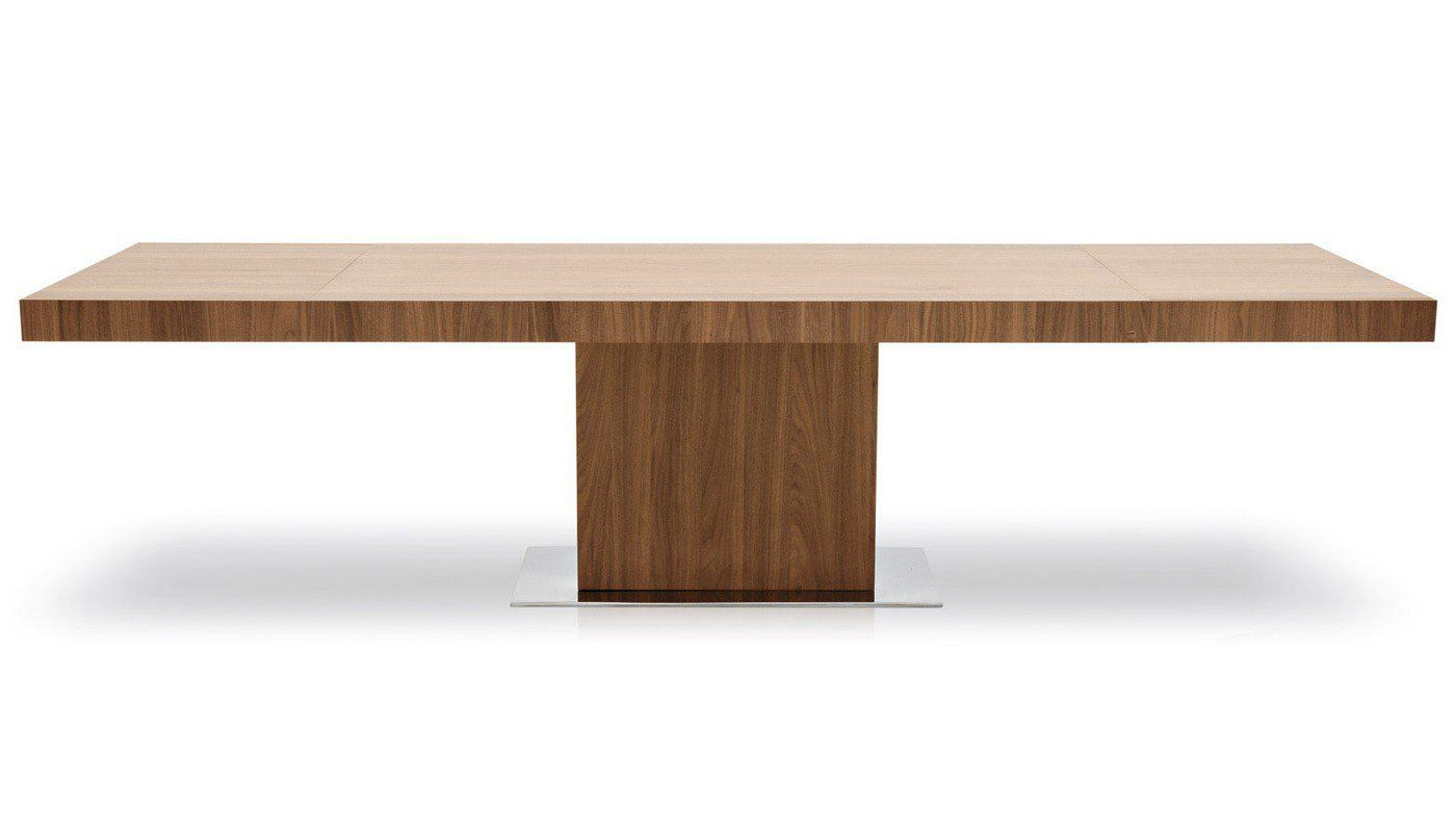 Park Extending Dining Table In Walnut Discontinued