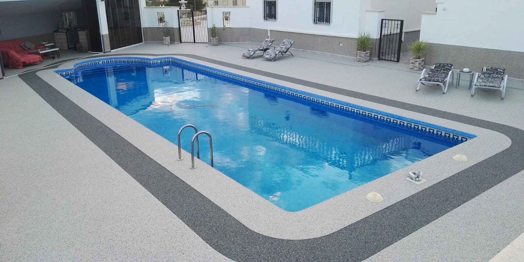 Addabound Resin Bound Surfacing for spanish pool surround ...