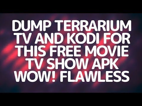 STOP USING KODI OR OTHER TERRARIUM TV CLONES USE THIS BEST