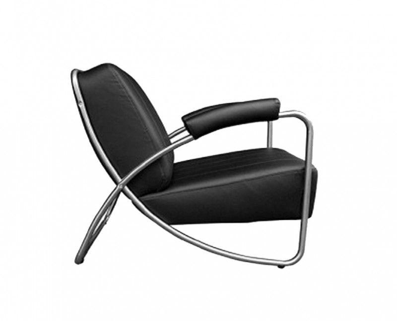 Art deco buisframe relax fauteuil nestor dutch design in for Bauhaus stoel leer