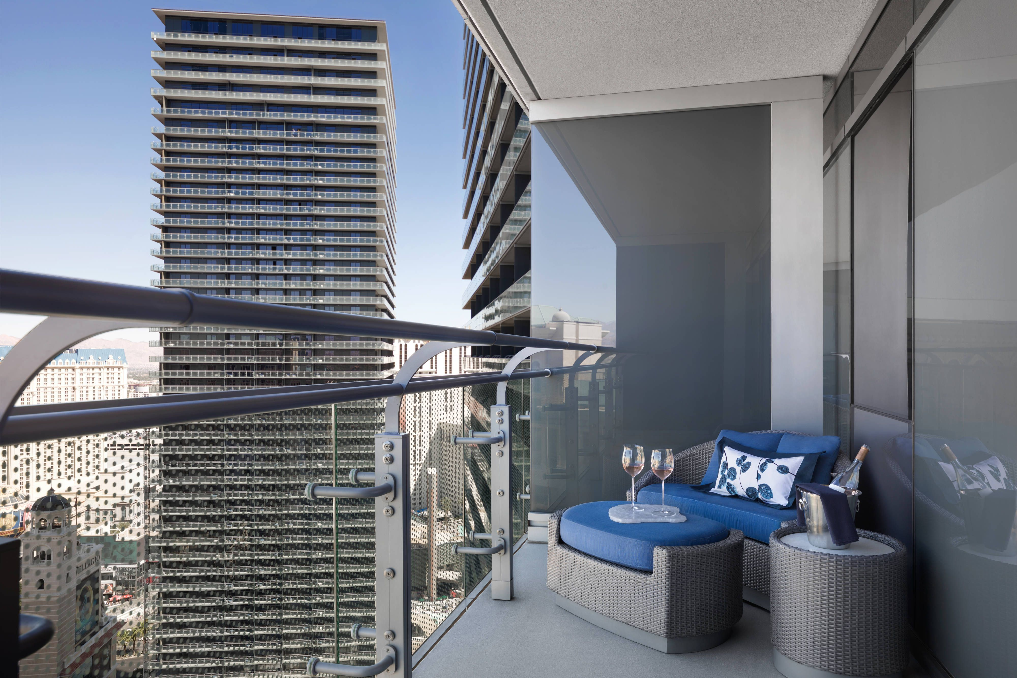 The Cosmopolitan Of Las Vegas Autograph Collection Terrace Suite Balcony Holiday Beautiful