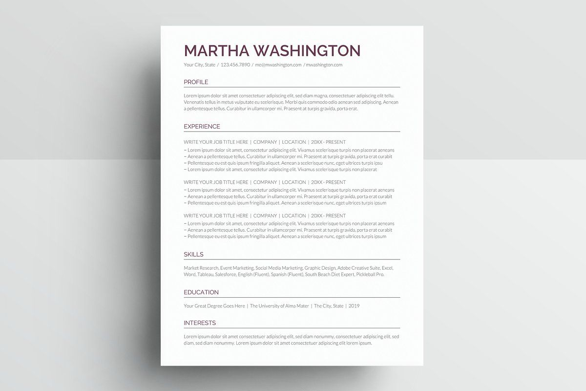 Ad Resume Template Cv Google Docs By Best Themes Templates On