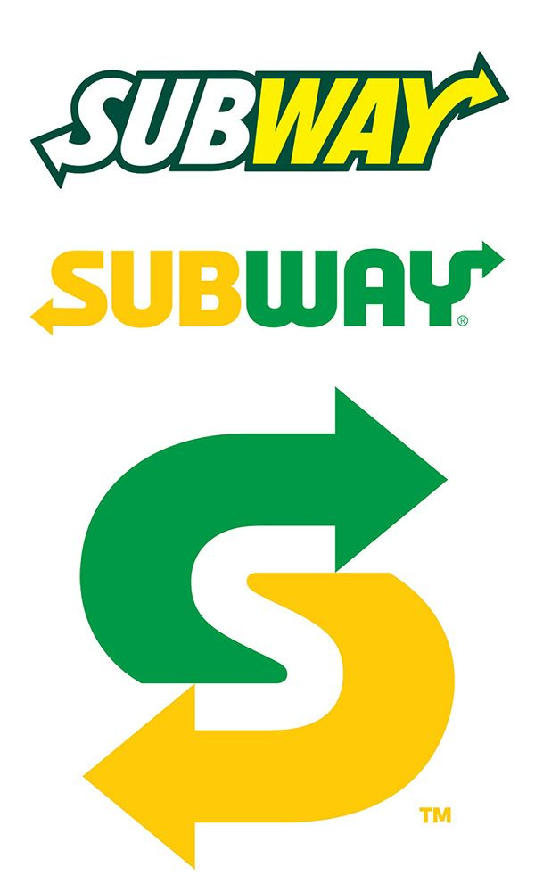 Subway Redesigns Its Logo For A New Age Subway Logo Food Brand Logos Branding Design Logo