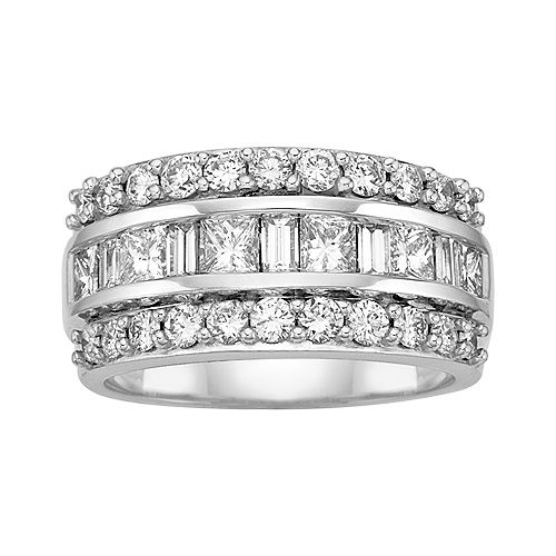 Kallati 2 Ct Tw Diamond Anniversary Ring Diamond Anniversary Rings Anniversary Rings For Her Diamond Anniversary Bands