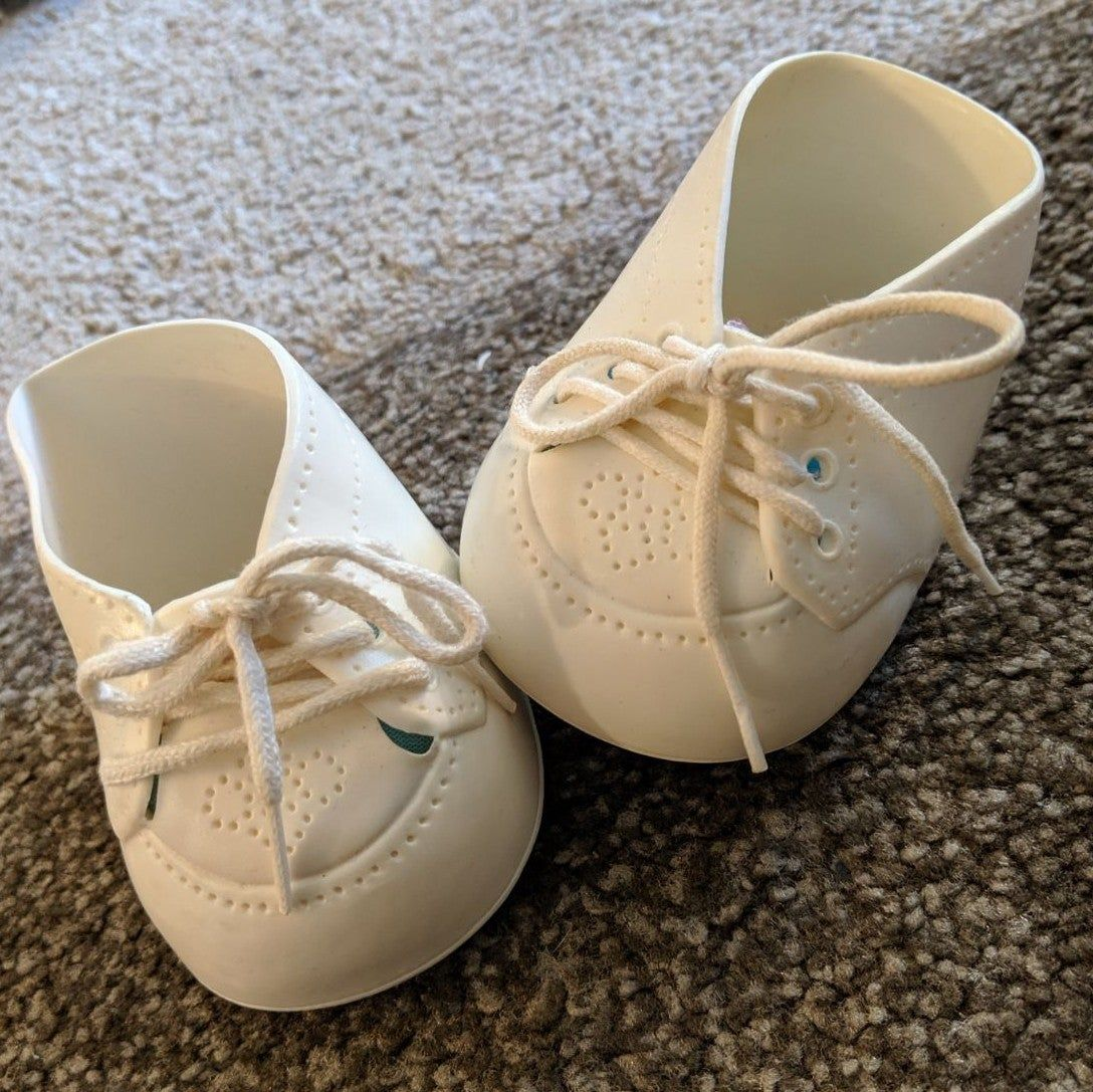cabbage patch kids shoes Made of rubber