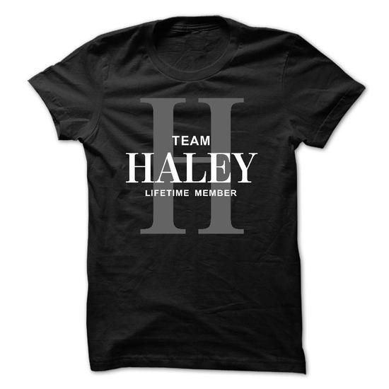 Team HALEY Lifetime member - #gift for women #small gift. MORE INFO => https://www.sunfrog.com/Names/Team-HALEY-Lifetime-member.html?68278