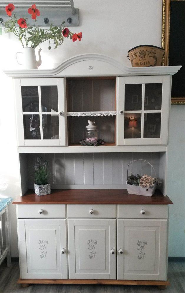 Süßes Küchenbuffet Küchenschrank im Landhausstil   Diy design ...