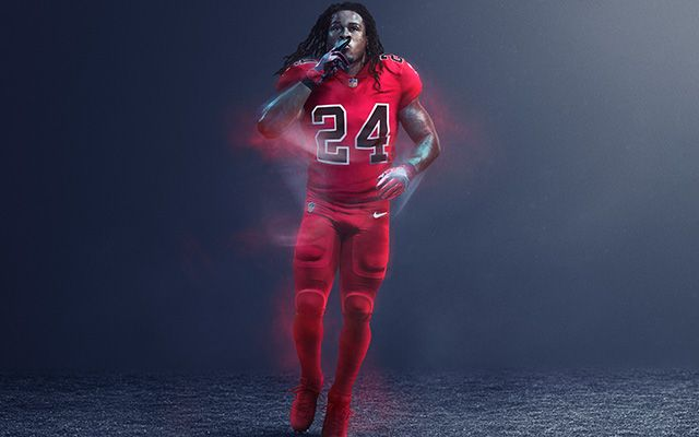 Nfl And Nike Reveal Color Rush Uniforms Color Rush Uniforms Color Rush Nfl Color Rush