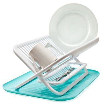 I Liked This Design On Fab Foldable Dish Rack Blue Modern Kitchen Accessories Kitchen Accessories Design Best Cleaning Products
