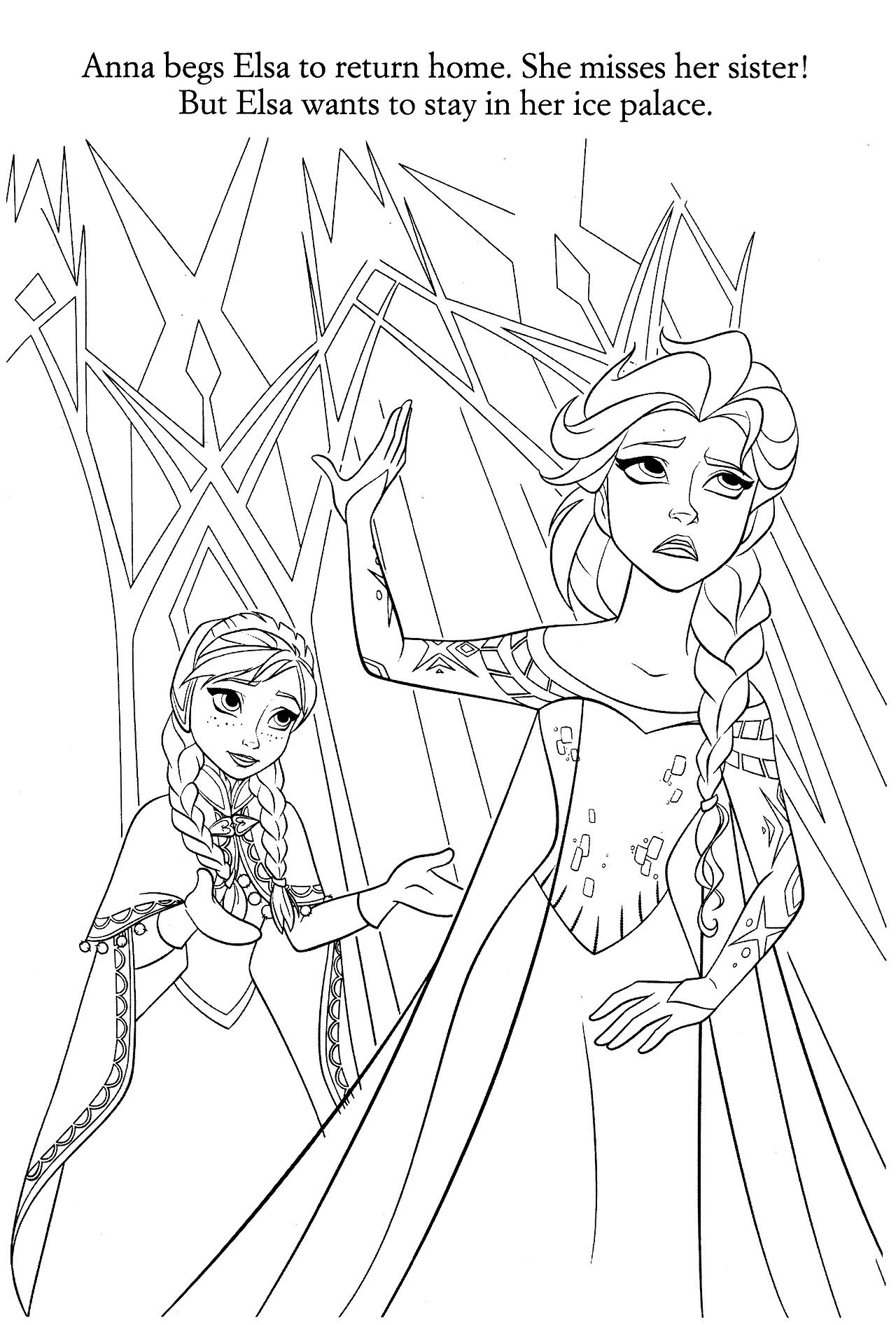 Disney Coloring Pages Photo Disney Coloring Pages Elsa