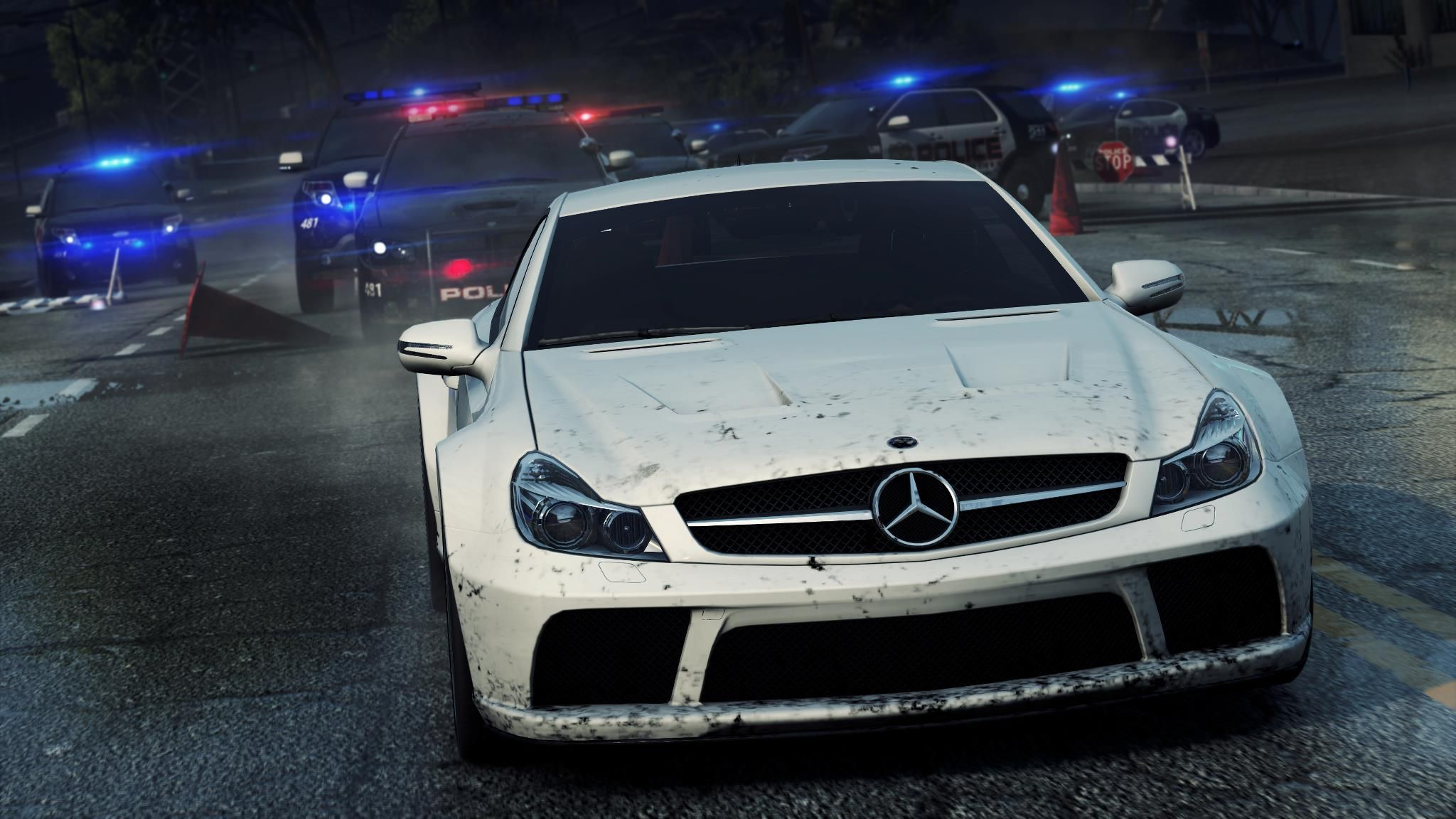 sls amg and sl 65 amg: 'need for speed: most wanted 2' | mercedes