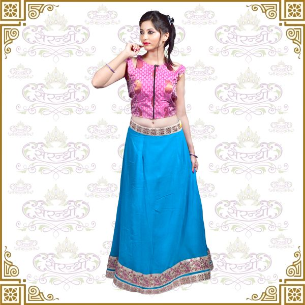 Lehenga, Chaniya Choli and all garba dresses are now available on www.sairandhri.com