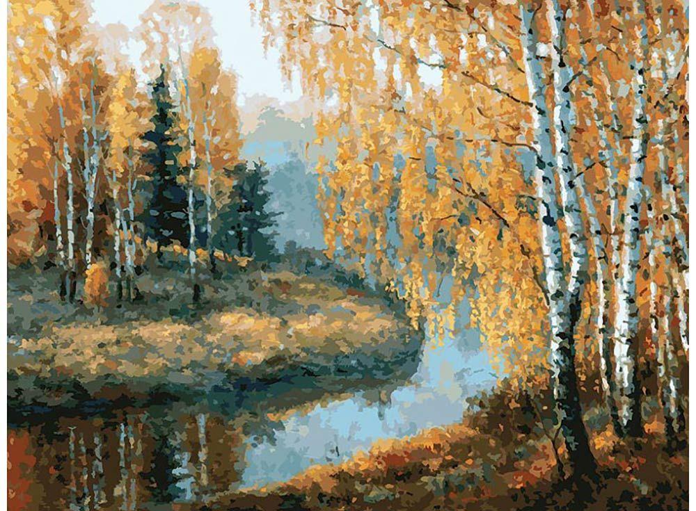 Картина по номерам «Вот и осень пришла»   Картины ...