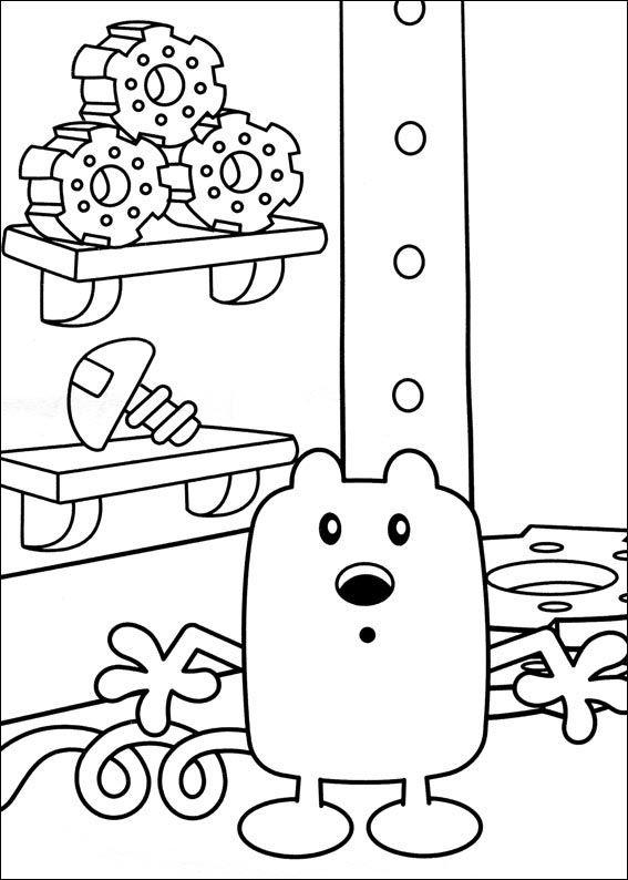 Dibujos para Colorear Wow Wow Wubbzy 19   Dibujos para colorear ...