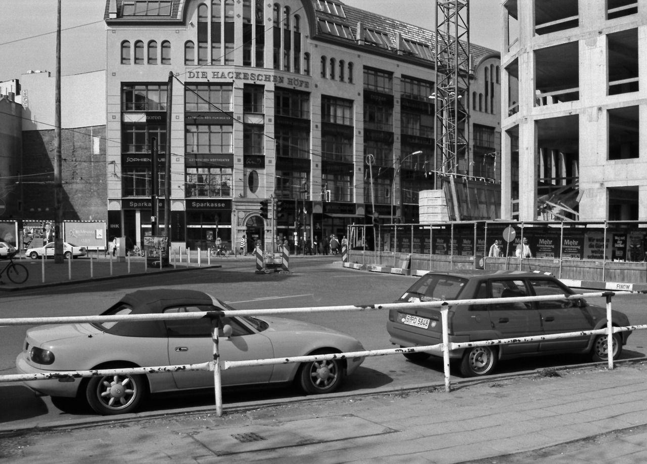 Hackescher Markt in Mitte, 1998