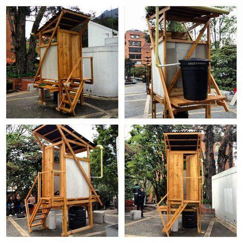 Un Bano Seco Prefabricado Bano Seco Ecologico Construccion En