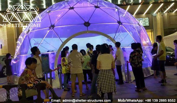 Projection domes for sale - 360 projection dome - Projection sphere for light show - Dome theater for events - Pop up geodesic dome tents - Half clear ... & Projection domes for sale - 360 projection dome - Projection ...