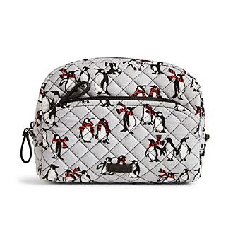 Vera Bradley Playful Penguin Iconic Medium Cosmetic Bag   Products ... 4144536bbb