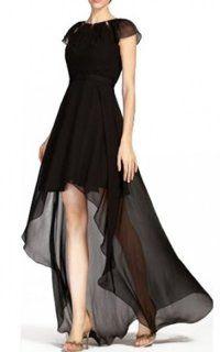 High Low Chiffon Bcbg Open Back Dress Black High Low Evening Dresses White High Low Dress Bcbg Black Dress