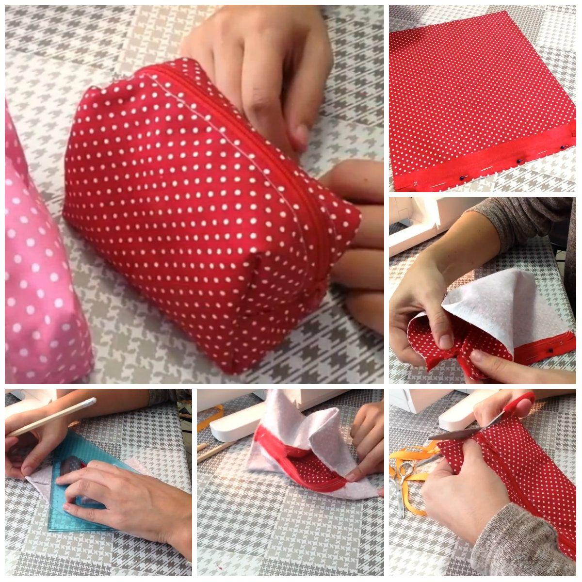 Borse Di Stoffa Da Cucire : Come cucire una pochette tutorial borse di stoffa