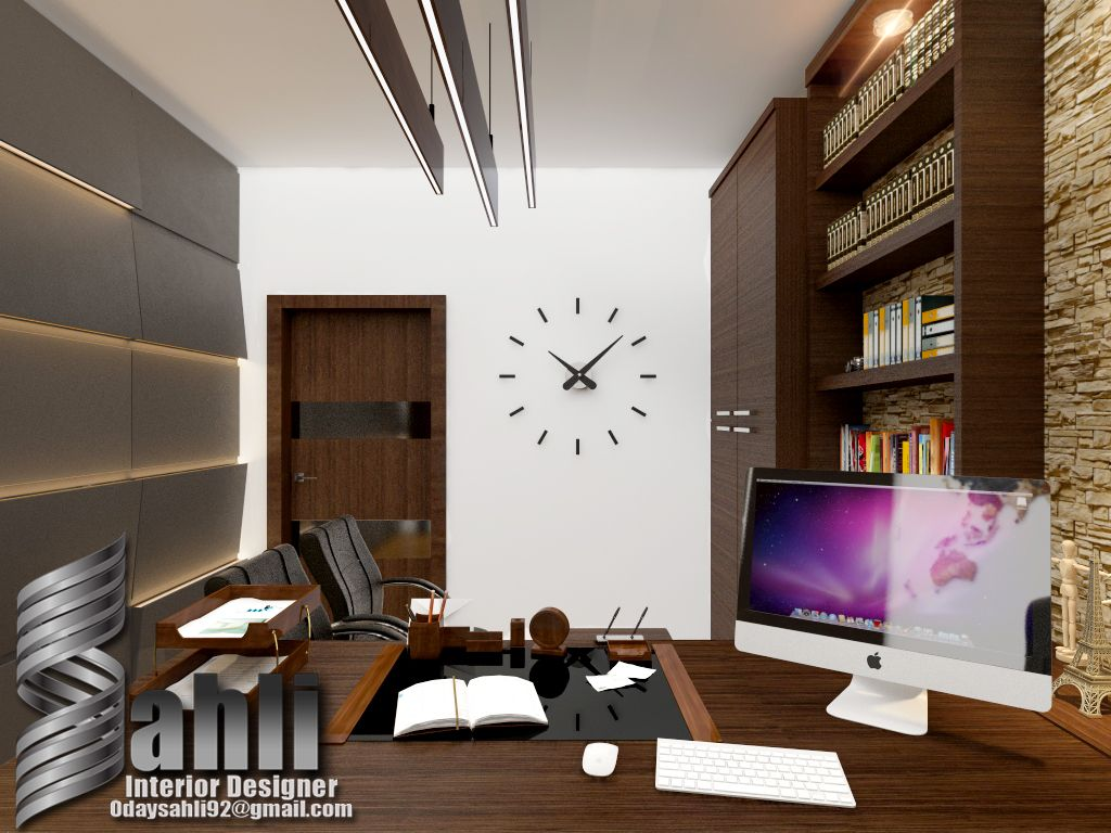 My Design New Office By 3ds Max Photoshop Hope You Like It