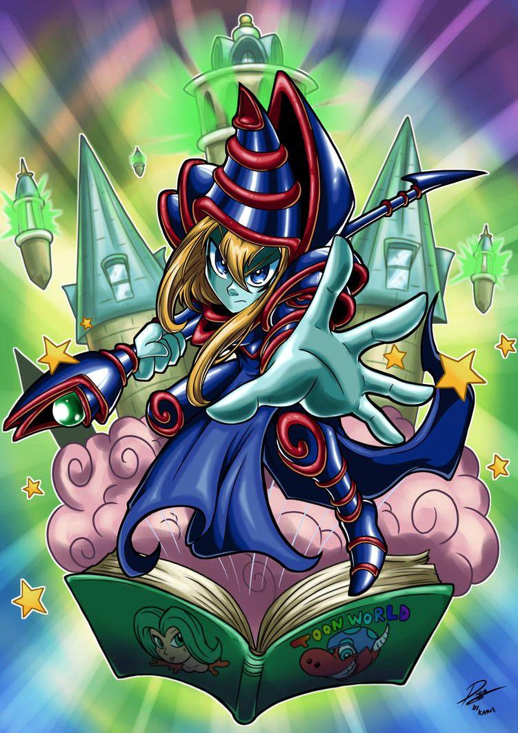 Toon Dark Magician By Kraus Illustration On Deviantart Tatuagens