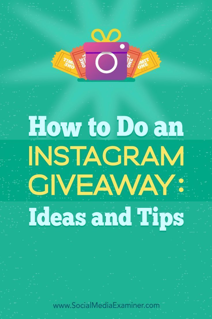 how to do an instagram giveaway: ideas and tips | social media