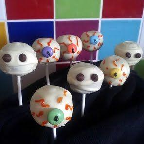 Vickys Spooky Halloween Cake Pops! recipe snapshot