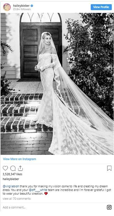 Photo of Best celebrity wedding dresses of 2019 – from Ellie Goulding to Hailey Bieber