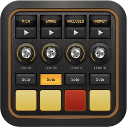 DM1 The Drum Machine Drum machine, Ios app icon, App icon