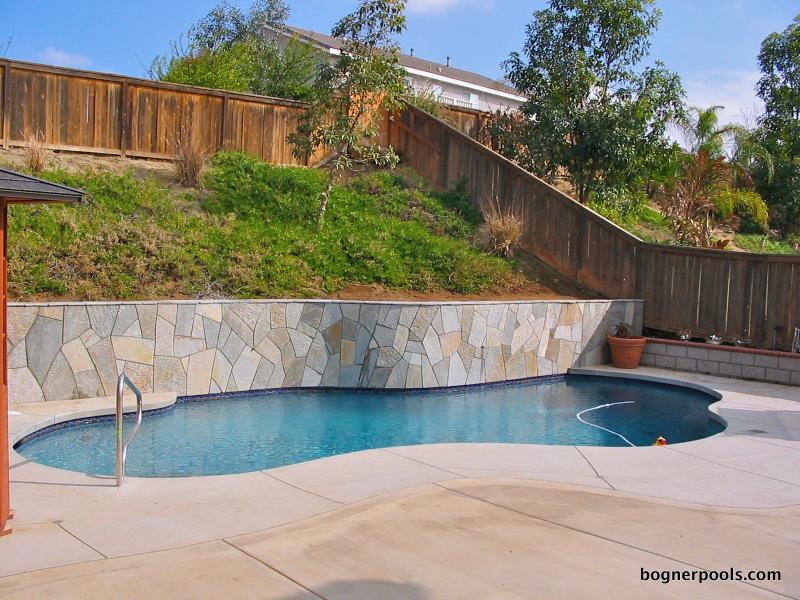 Retaining Wall Pool Backyard Dreams Pool Designs Backyard