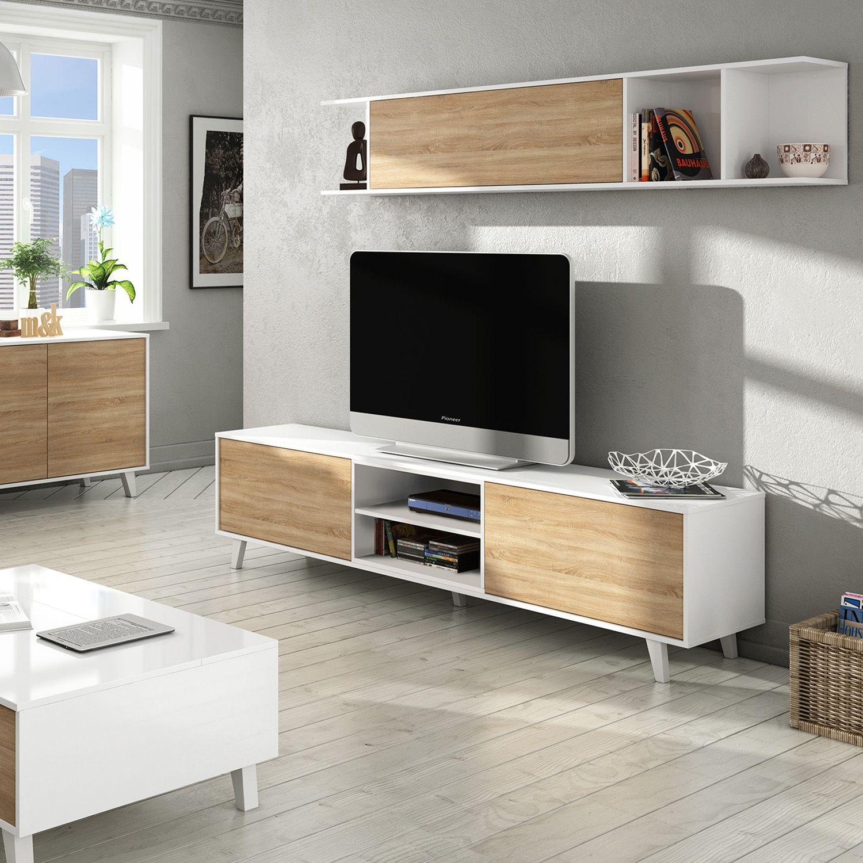 Mobile Zona Pranzo STYLUS PLUS -Mobile TV + Scaffale- | IA ...