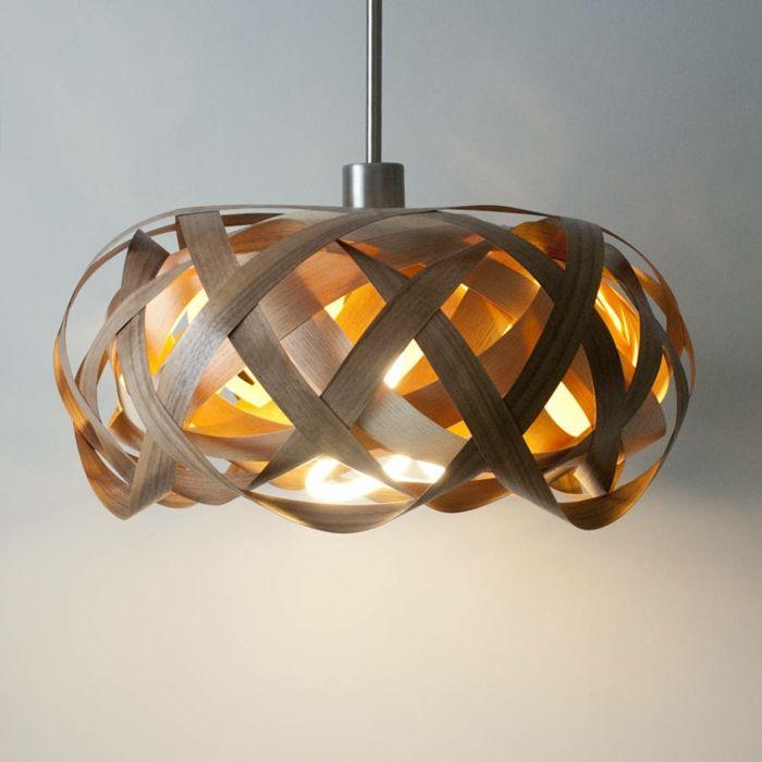 DIY LAMPEN SELBER Machen Lampe Diy Lampenschirme Selber Vogelnest Holz