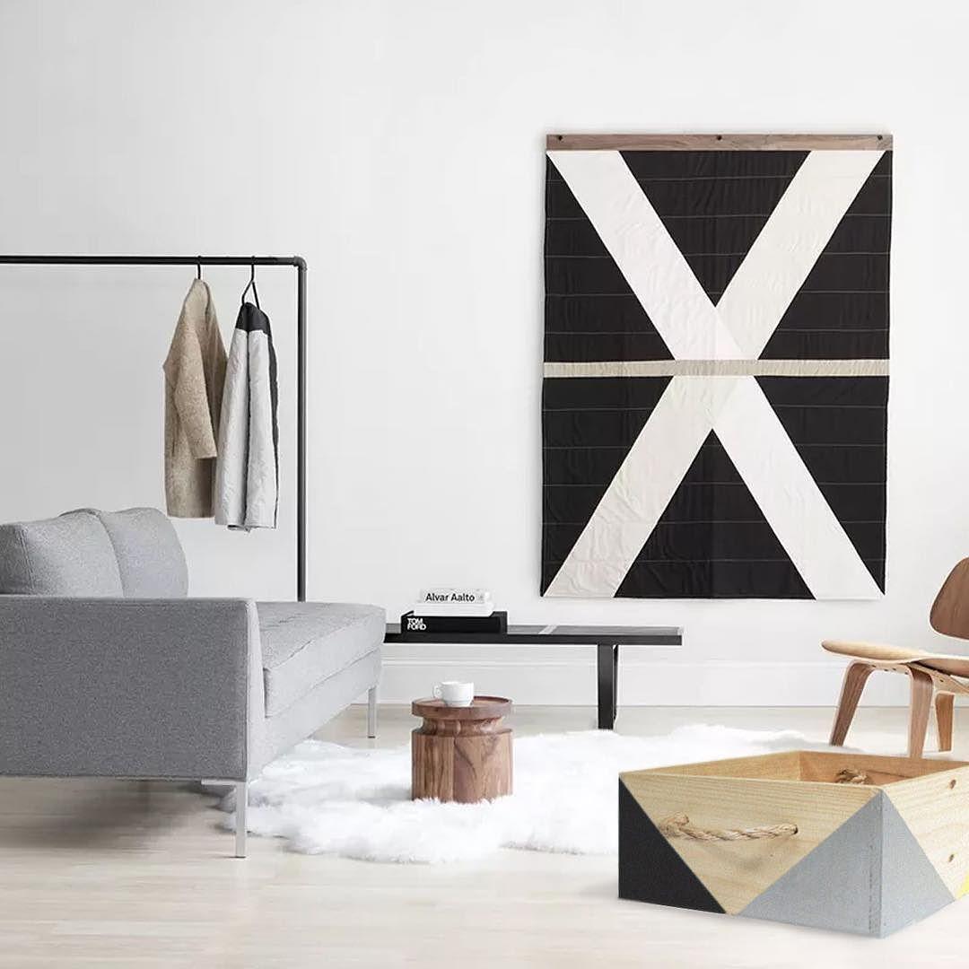 Giant Storage Box Monochrome Style Make Makepanama Panama Pty  # Muebles Hielo Sur