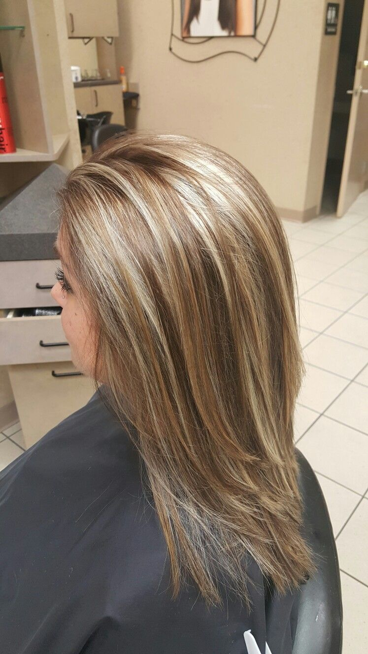 Light Golden Blonde Natural Highlights With Warm Medium Brown Low Li Brown Hair With Blonde Highlights Blonde Highlights On Dark Hair Natural Blonde Highlights