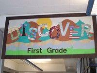 third grade hallway idea