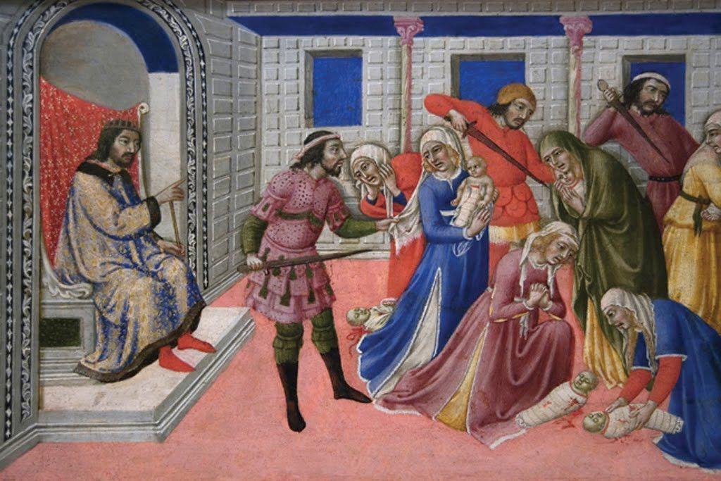 Massacre of the Innocents, by Sano di Pietro