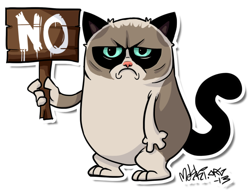 Grumpycat By Mekki On Deviantart Grumpycat Fanart Grumpy Cat Stuff Gifts Meme On Www Pinterest Com Eri Grumpy Cat Cartoon Cartoon Cat Drawing Cat Drawing