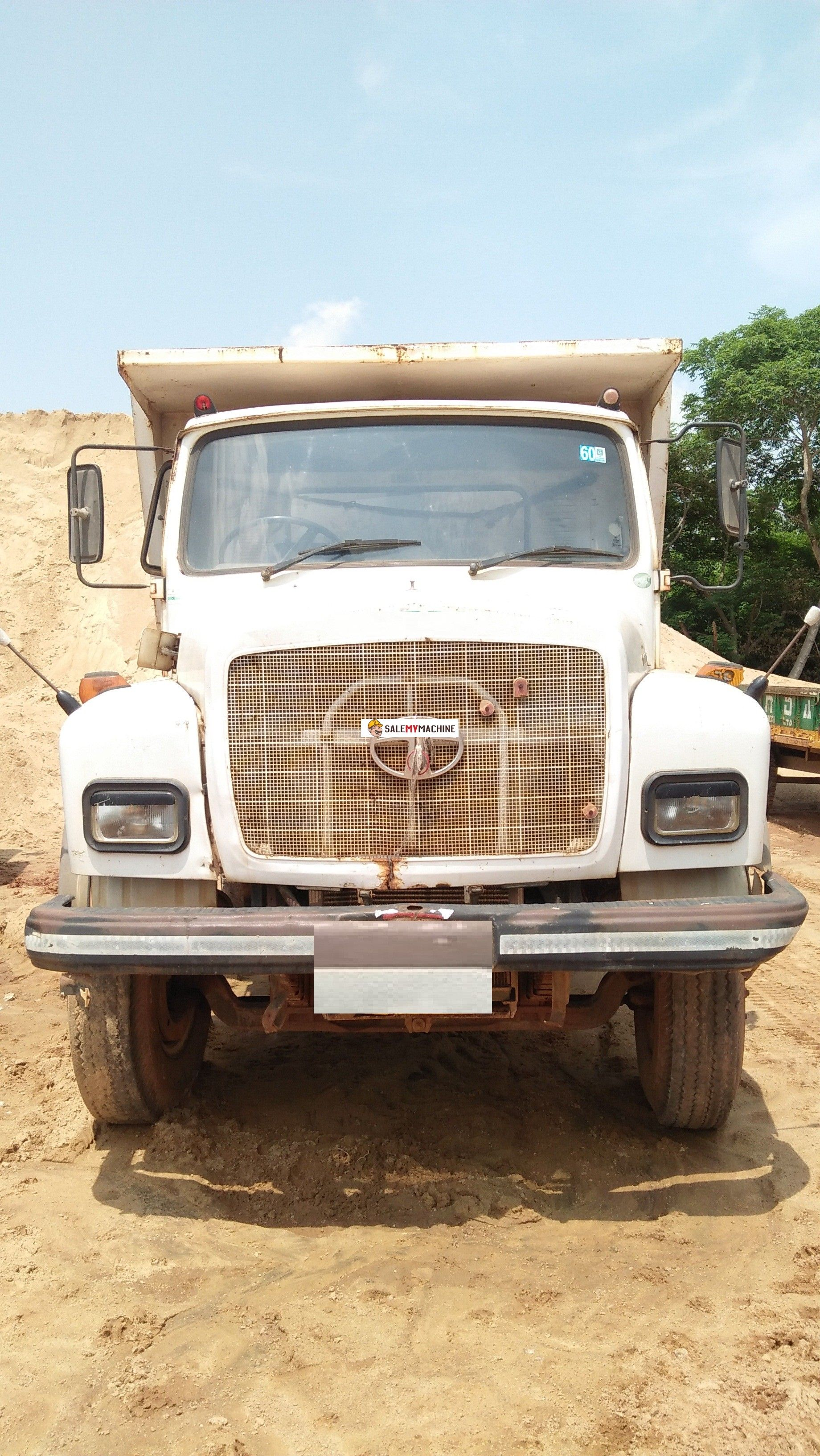 USED CONSTRUCTION EQUIPMENT SALE IN INDIA.USED TATA 6 WHEELER TIPPER FOR  SALE IN CHATTISHGADH AT salemymachine.com