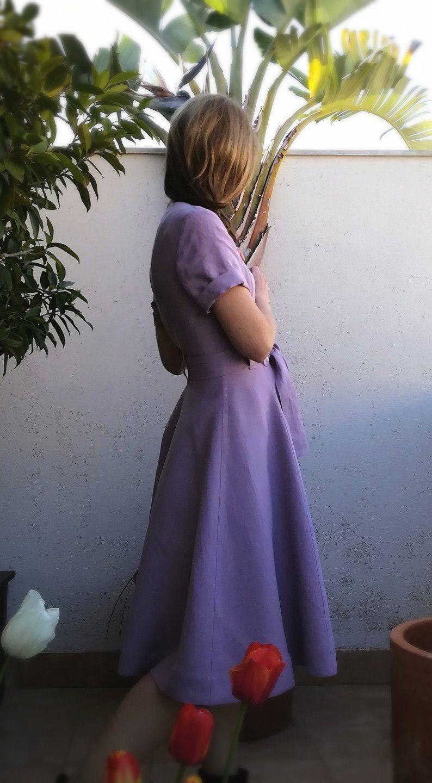 Double Breasted Dress Linen Linen Dress With Belt Etsy Double Breasted Dress Linen Dresses Cotton Wrap Dress [ 1440 x 794 Pixel ]