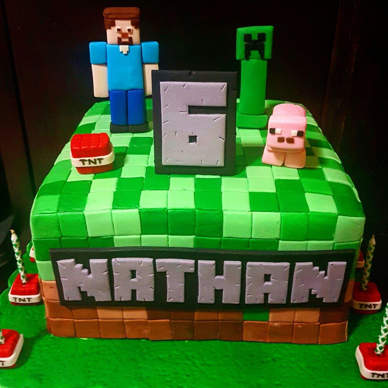 Картинка лего майнкрафт на торт