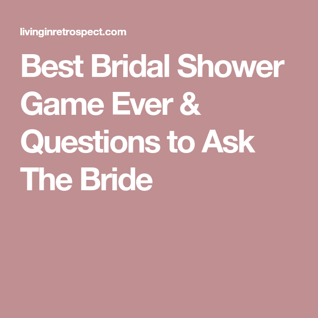 not to burst your bubblegum is the best bridal shower game ever