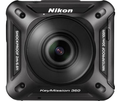 action cam nikon keymission 360 noir. Black Bedroom Furniture Sets. Home Design Ideas